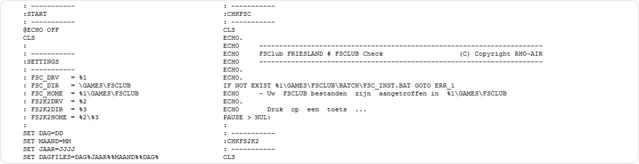 B737RHO BATCH Script