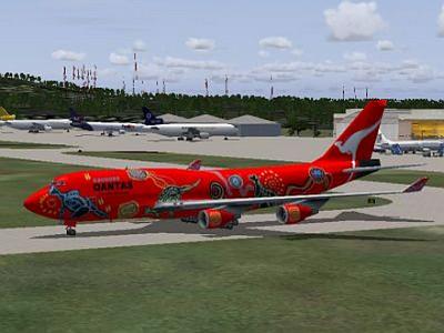 Aircraft Qantas