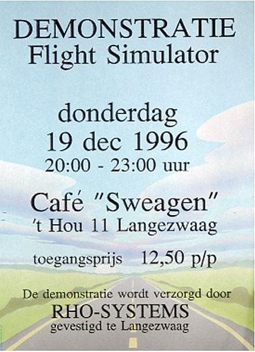 HISTORIE Uitnodiging 1996